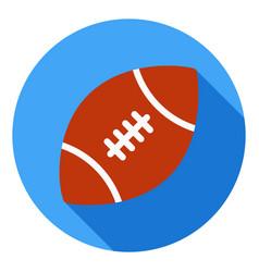 american football icon sports ball symbol modern vector image