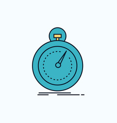 Done fast optimization speed sport flat icon vector