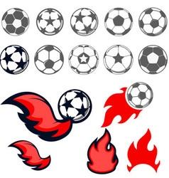 Footbal vector