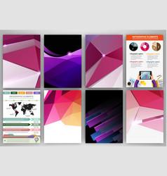 purple creative vector image
