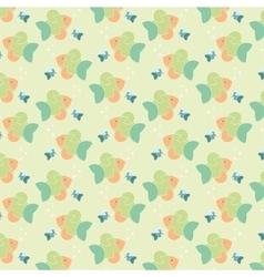 Colour fish pattern vector