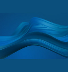 Classic blue color fashion color abstract flow vector