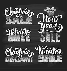 Holidays sale vector image