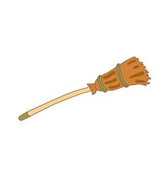Icon broom vector