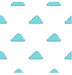 One cloud pattern flat vector