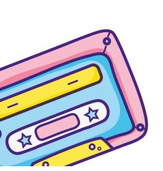 retro vintage element cartoon vector image