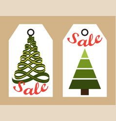 sale new year collection on vector image