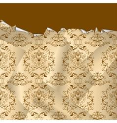 vintage wallpaper vector image