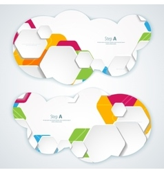 Abstract Banners Backgrounds Eps10 Format vector image