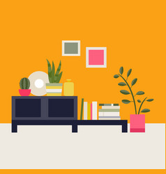 interior living room vector image vector image