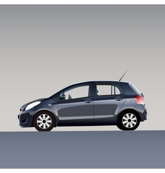 New model of auto vector image