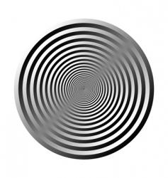 3d circle vector image vector image