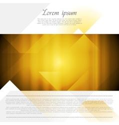 Bright abstract flyer design vector