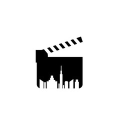 film logo vector image