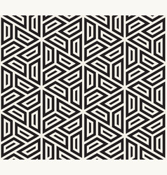 Seamless geometric pattern simple abstract lines vector