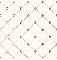 Seamless geometric pattern with hand drawn vector