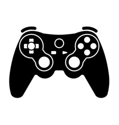 Xbox video game controllers or gamepad flat icon vector