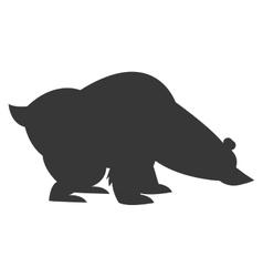 polar bear icon vector image vector image