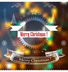 Hand Drawn Christmas Decoration Set Of decoration vector image