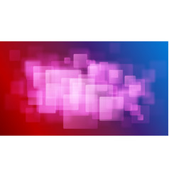 Abstract background blurry squares vector