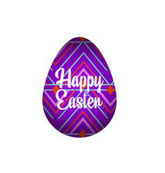 Banner happy easter vector