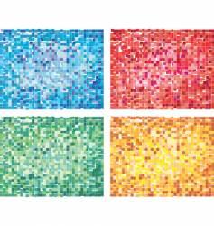 cubism design vector image