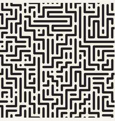 geometric digital striped seamless pattern vector image