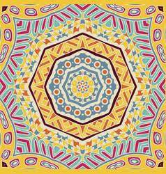 geometric ornament texture vector image