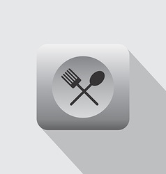 Restaurant and cafe icon vector image