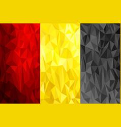 Set of polygonal backgrounds for smartphones vector