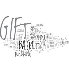 what gift will you buy text word cloud concept vector image vector image