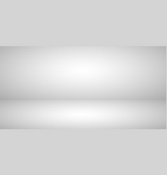 white-gray background grey backdrop with gradient vector image