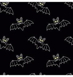 Funny bats vector image vector image