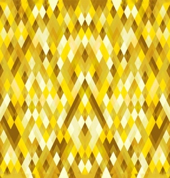 Abstract Geometric Gold Polygon Pattern background vector image