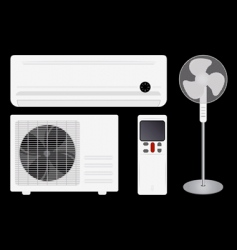 Air conditioning and fan vector