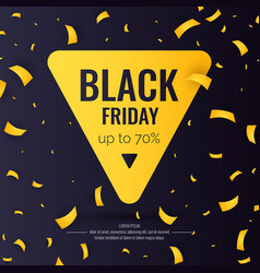 Black friday sale abstract background vector