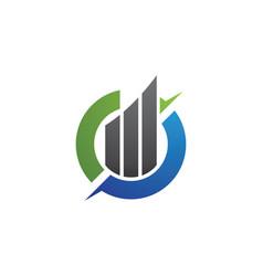 C letter logo business professional logo template vector