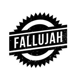 Fallujah rubber stamp vector