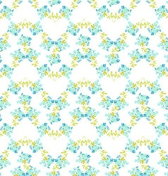 Floral pattern with Forget-Me-not flowers vector image