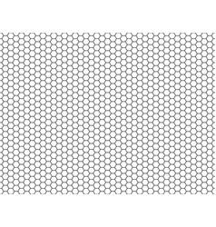 hexagon honeycomb pattern honey hexagonal vector image