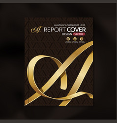 Report cover 40 vector