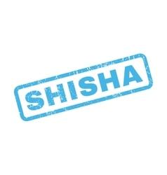Shisha Rubber Stamp vector
