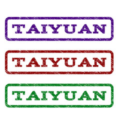 Taiyuan watermark stamp vector