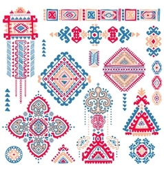 Tribal aztec vintage seamless pattern vector
