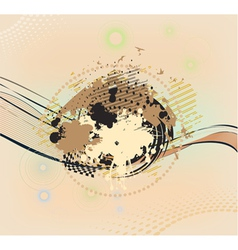 background from many blots vector image vector image