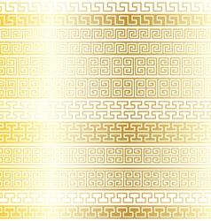 gold fretwork borders vector image vector image