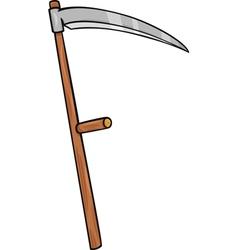 scythe clip art cartoon vector image vector image