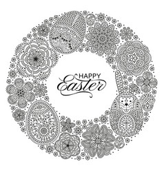 Happy easter background good design template for vector