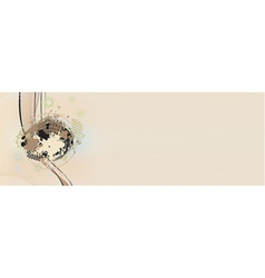 background from many stains vector image vector image