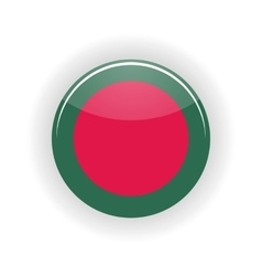 Bangladesh icon circle vector image